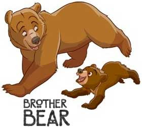 Brother Bear from Disney | Tacky Harper's Cryptic Clues