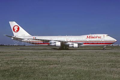 Minerve Boeing 747-283B F-GHBM (msn 20120) ORY (Jacques Guillem). Image: 920938.
