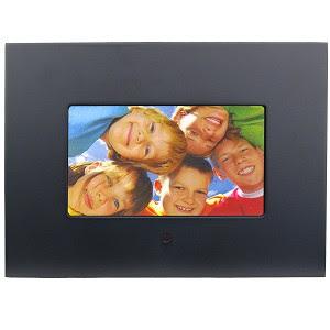 7 Polaroid Widescreen Digital Photo Frame Black 4999