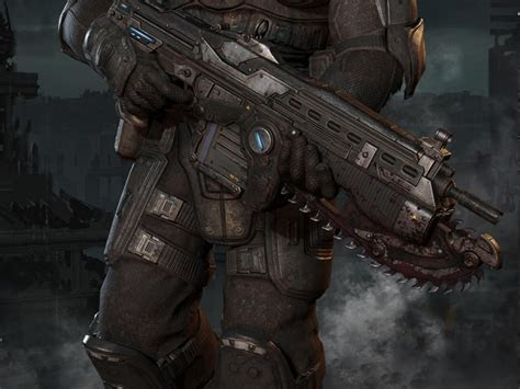 badass wallpapers  android    marcus fenix gears