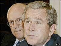 Dick Cheney og George W. Bush