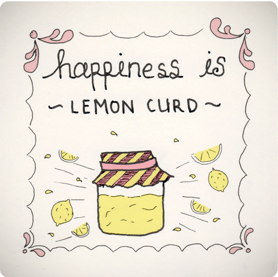 happiness is... lemon curd