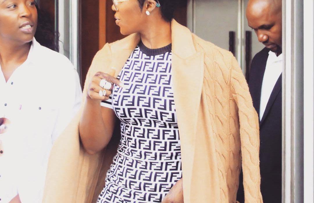 Tiwa Savage stuns in South Africa
