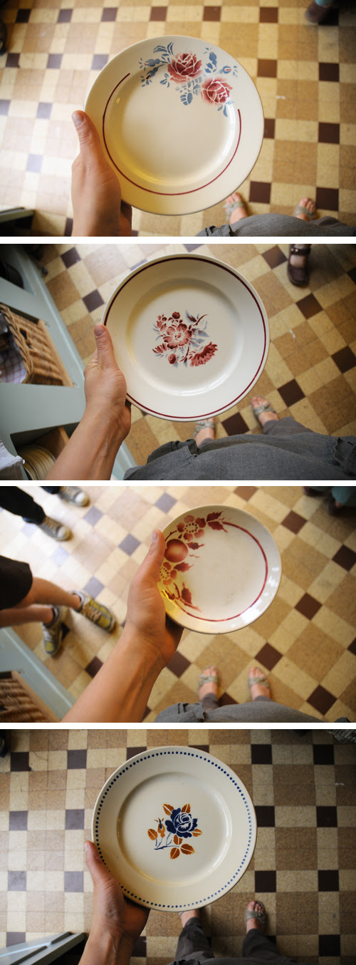 plates portraits