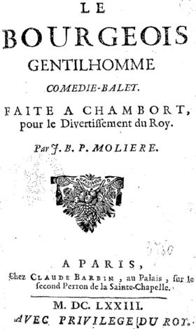 Guillaume Pépy et le Bourgeois gentilhomme