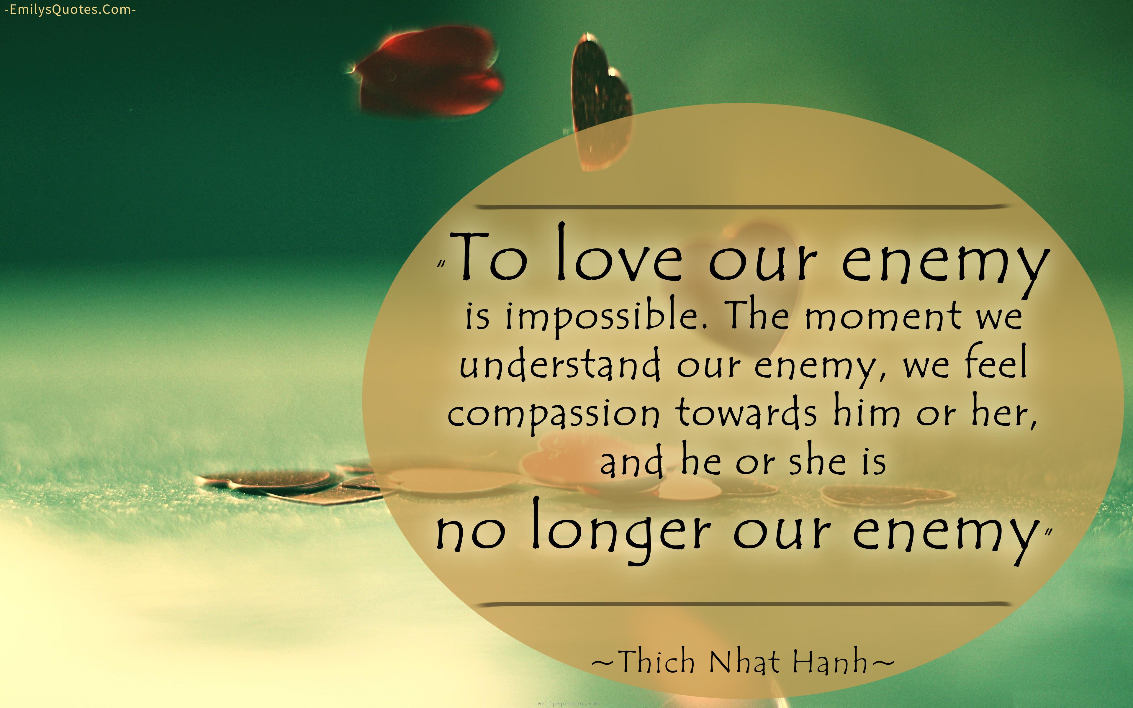 Thich Nhat Hanh love amazing great wisdom