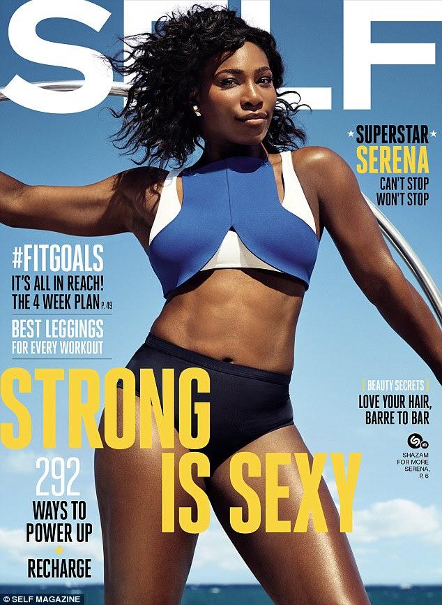 Campeão parece: Serena Williams parece lindo na última capa da revista Auto