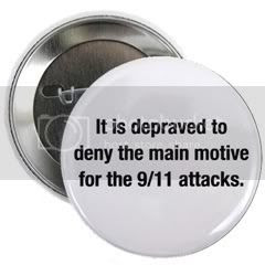 It is depraved to deny the main motive for the 9/11 attacks.