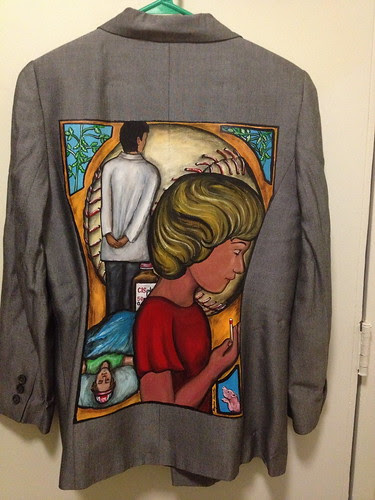 """The Keeper of the Match"" a jacket for Jo Hamilton"