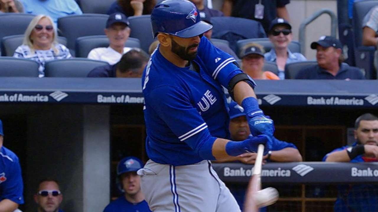 Azulejos barrieron a Yankees en la doble cartelera