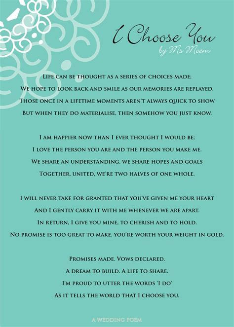 Best 25  Wedding poems ideas on Pinterest   Wedding