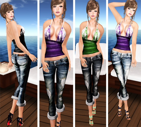 -Phoenix Rising-Boyfriend Jeans
