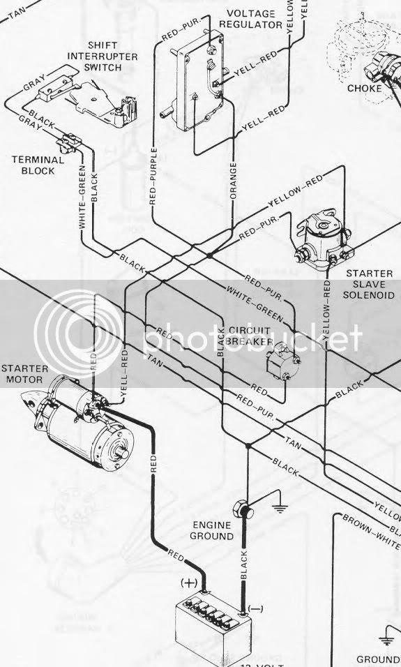 Chevy 427 Starter Wiring