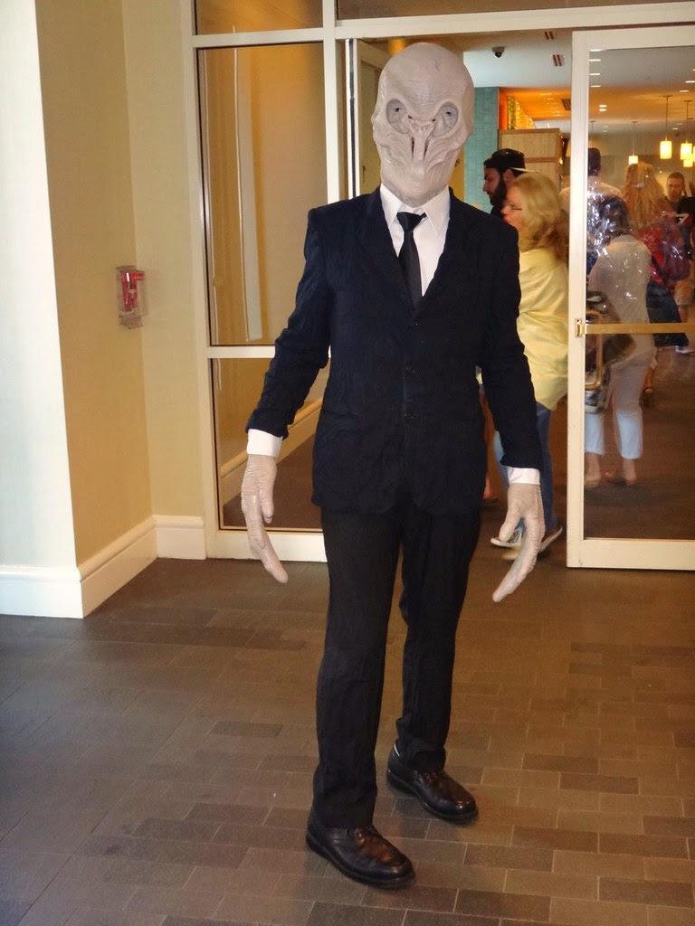 Boston Comic Con 2013 Doctor Who Silent cosplay Silence