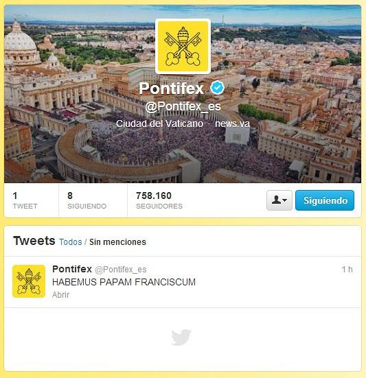 Twitter_Papam Franciscum