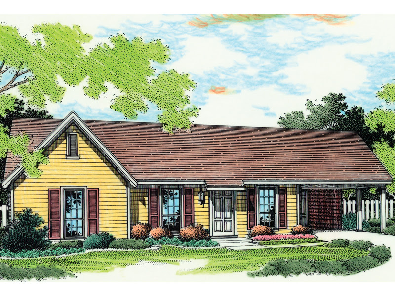 McAllister Country Home Plan 020D-0019 | House Plans and More