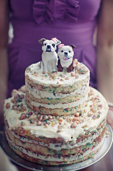 342 best Cakes for Dogs images on Pinterest   Dog treats