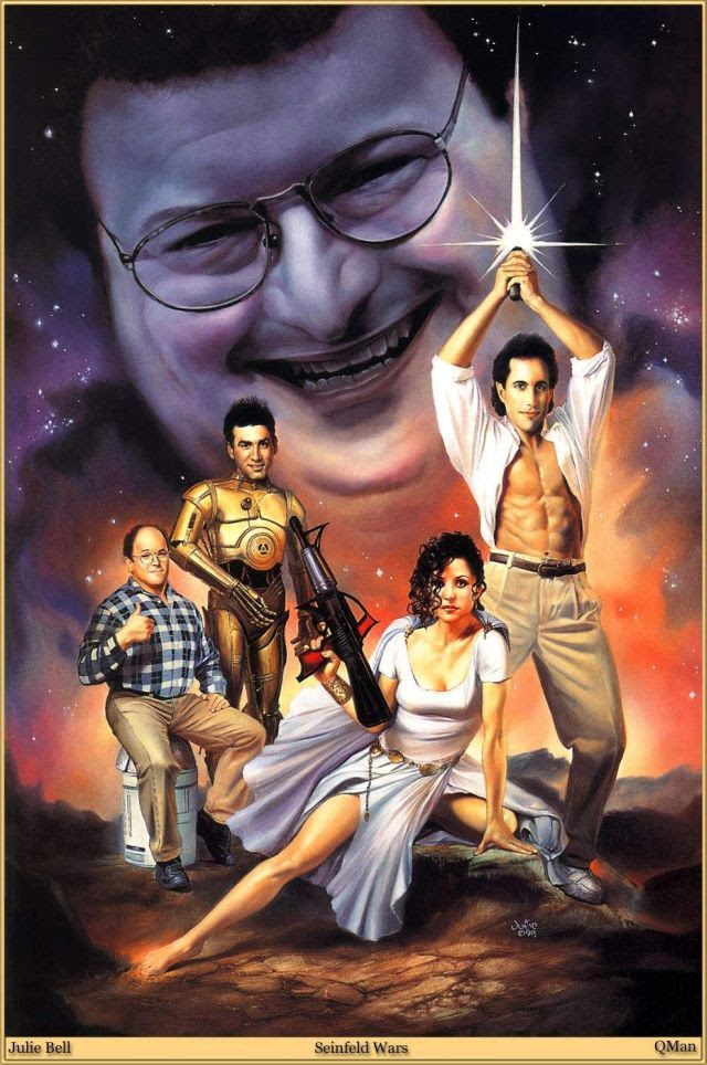 Seinfeld Star Wars fan art [click to enlarge]