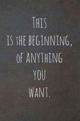 Every day is a new beginning and a new opportunity ...