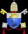 Brasão pontifical de São Pio X, O.F.S.