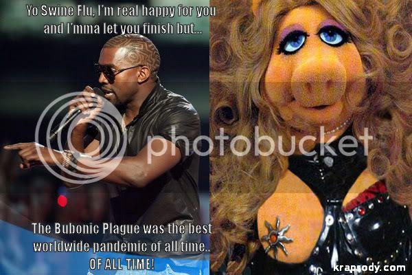 Kanye West and swine flu