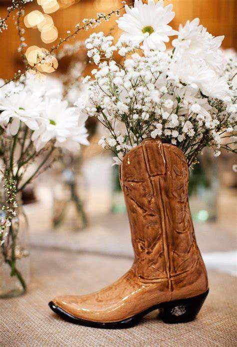 Best 25  Cowboy boot centerpieces ideas on Pinterest