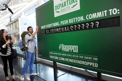 Heineken Departure Roulette, Would you do it?