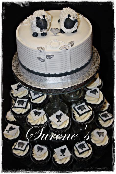 Farm Theme Wedding Cake   CakeCentral.com