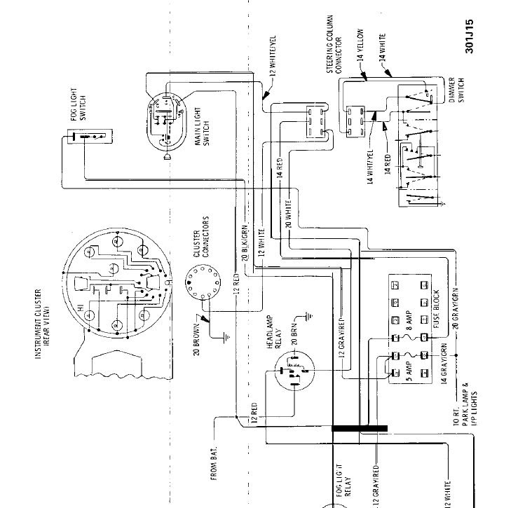 Opel Gt Wiring Diagrams 1969 1973 Download Bruceboys Classic Cars