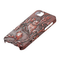 wooden owl iphone iPhone 5 case