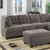Poundex Sectional Sofas F7139 Urban Home Designing Trends
