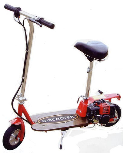 Scooterparts4less Com 33cc Razorback Gas Scooter