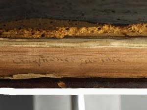 El libro con arte escondido en el canto4