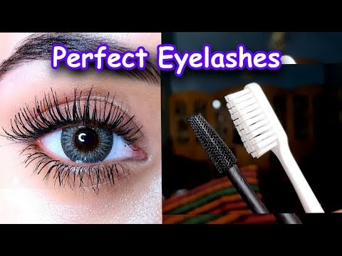 Thick & Long Eyelashes in Few Seconds - Tips &Tricks!
