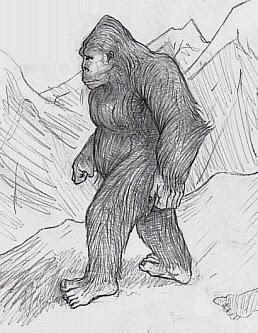 English: Sasquatch Yeti Bigfoot Bugerbear Yowie