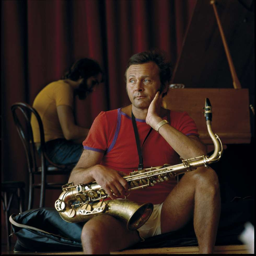 Stan Getz, retratado por Jean Pierre Leloir.