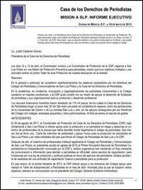 Informe Ejecutivo de Gastos en SLP 1