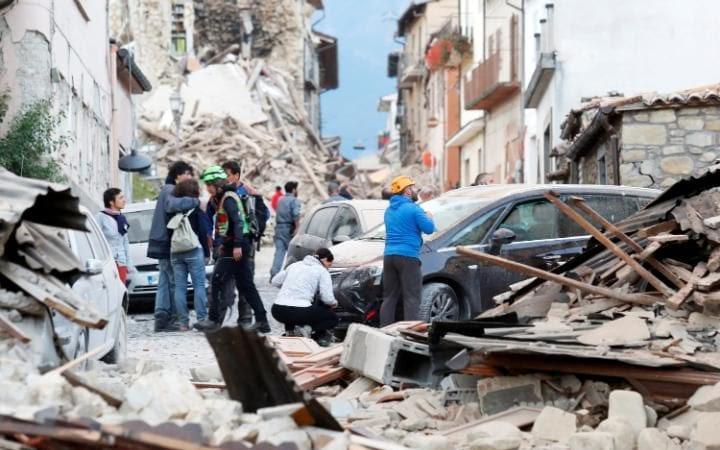 Σεισμός χτυπά κεντρική Ιταλία