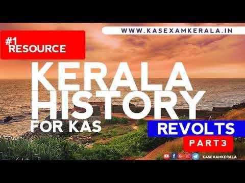 Watch Kerala History for KAS Exam Kerala | Part 3 | Kerala Revolts