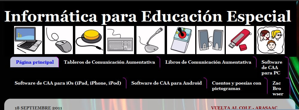 Resultado de imagen de informatica para educacion especial