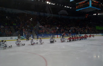 Sledge Hockey teams