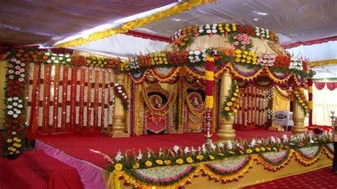 Kalyana Mandapam Decorations TSM   kalyana mandapam in