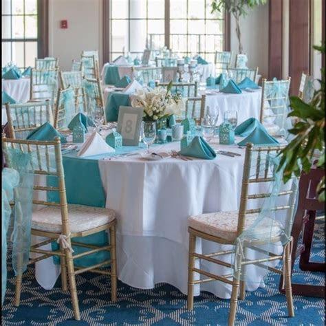 Gorgeous Tiffany Blue & Silver wedding decorations I'm