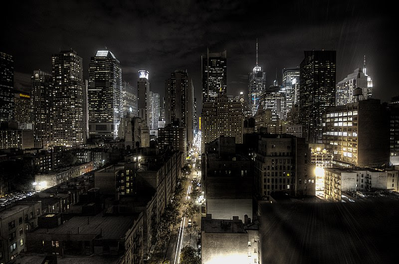 File:New York City at night HDR.jpg