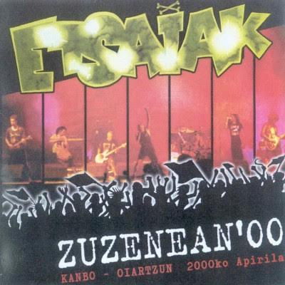 Etsaiak - 2000 - Zuzenean