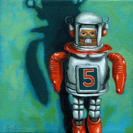 Robot Man - vintage toy