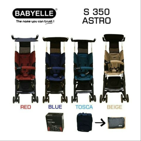 Story with Stroller Babyelle Astro