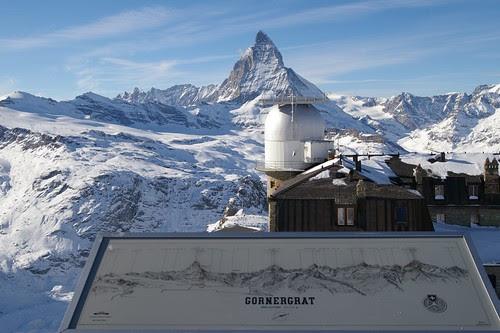 到了瞭望台 看到的景4 眼前是馬特洪峰