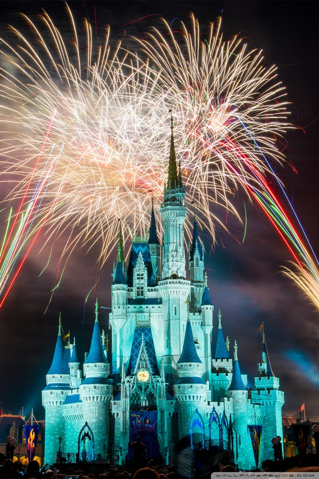 Magic Kingdom Fireworks 4k Hd Desktop Wallpaper For 4k Ultra Hd