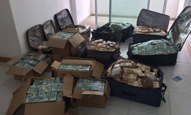BRASIL: PF contabiliza R$ 51 milhões em 'bunker' que seria de Geddel